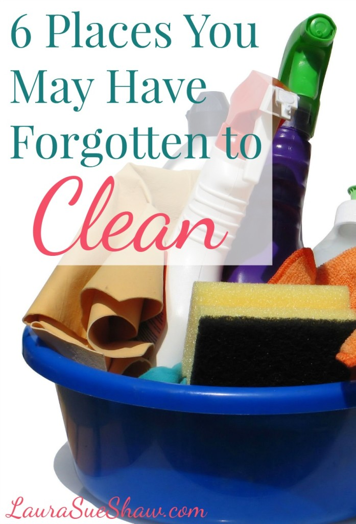 6 Places You May Have Forgotten to Clean