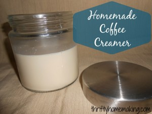 creamer title 300x225 Homemade Coffee Creamer