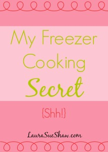 My simple but incredibly useful way I do freezer cooking