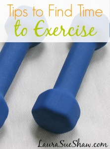 Top 3 Tips to Find Time to Exercise
