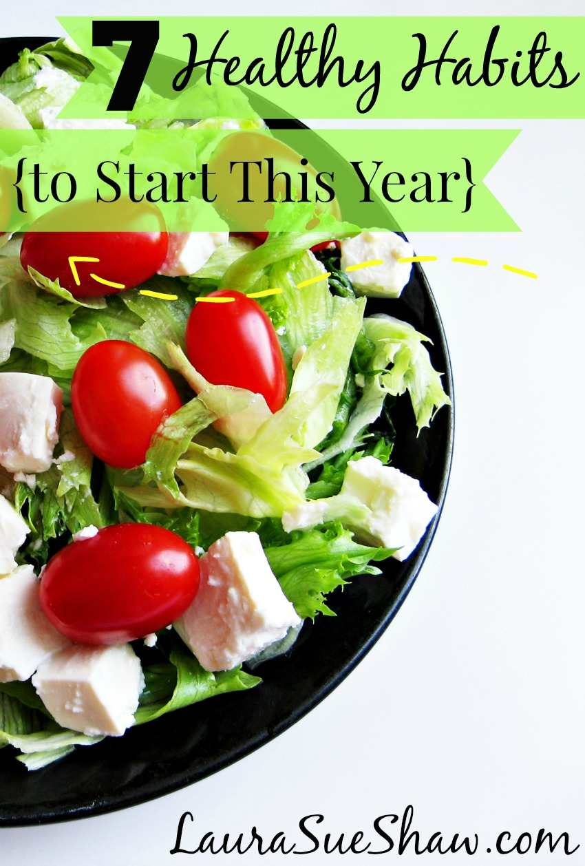 7 Healthy Habits to Start this Year
