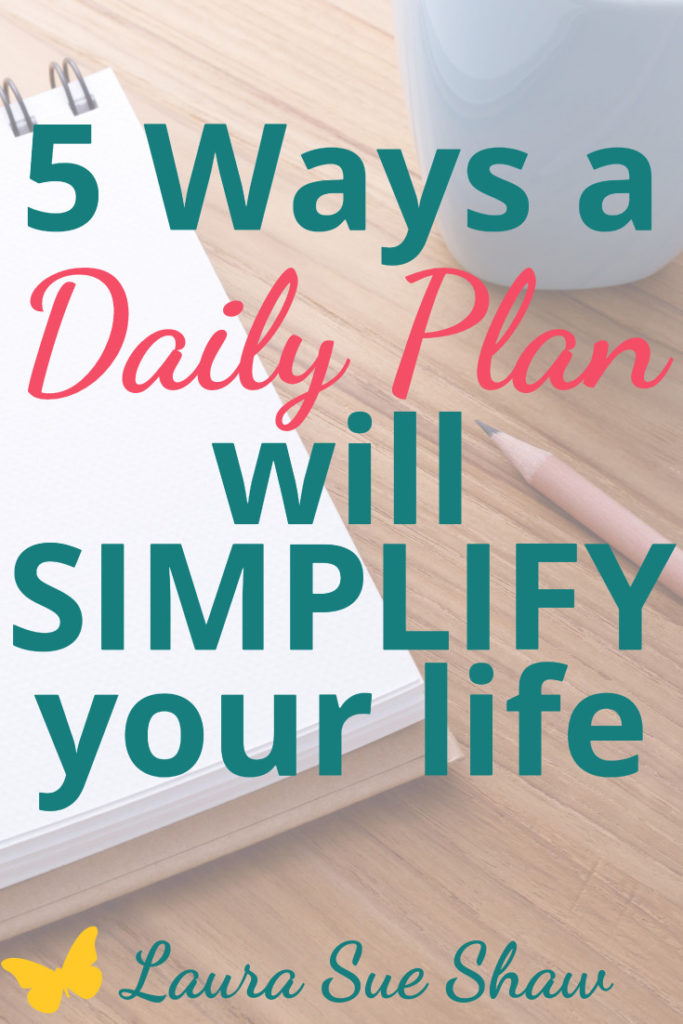 These reasons are exactly why you need a daily plan to give you priorities, purpose, and practical steps to reach your goals while living a meaningful life.