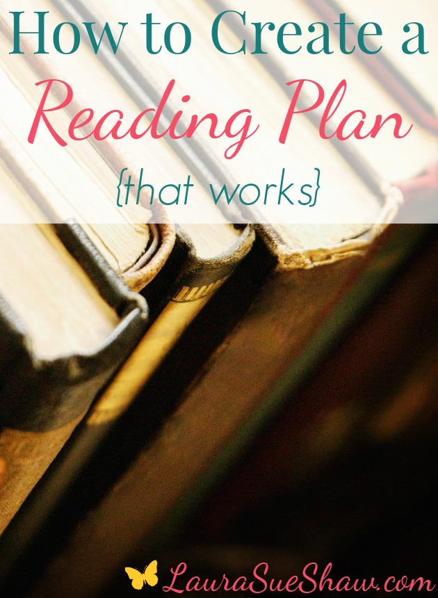 How to Create a Reading Plan That Works