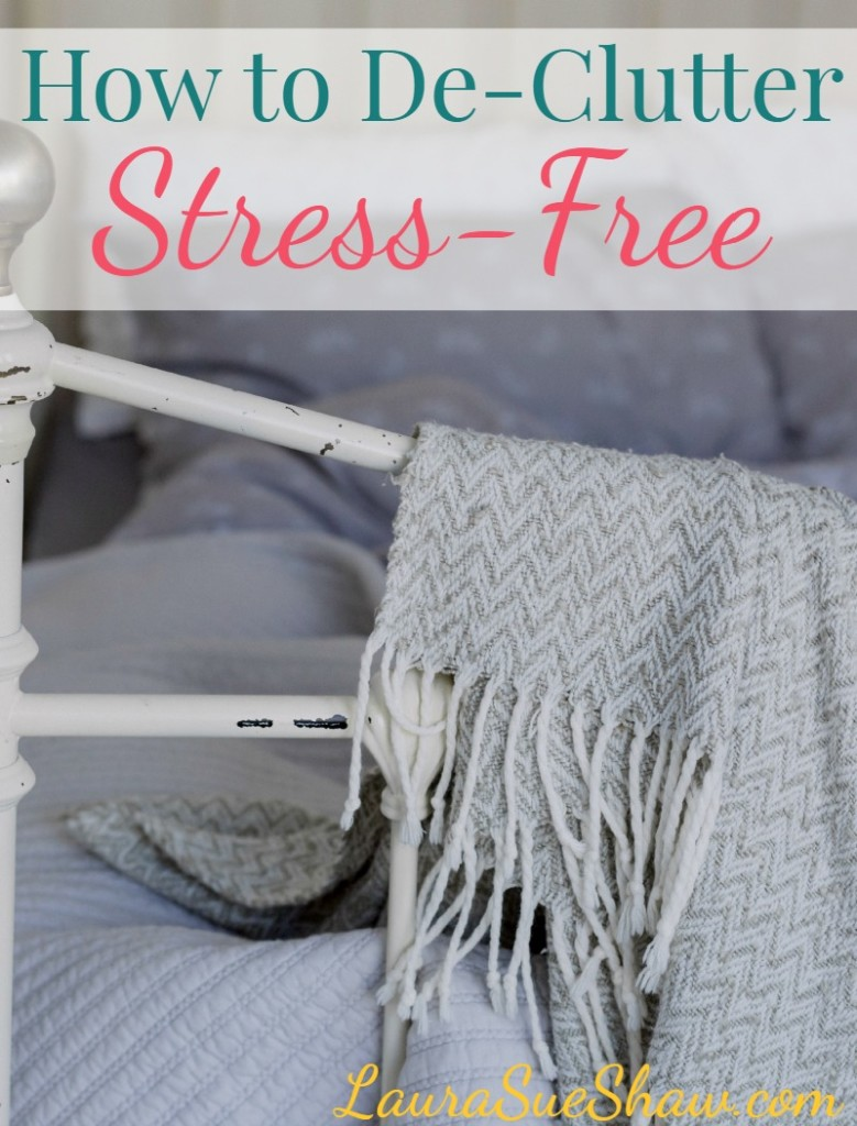 How to De-Clutter Stress-Free