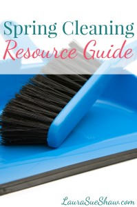 Spring Cleaning Resource Guide