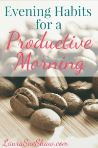 Evening Habits for a Productive Morning