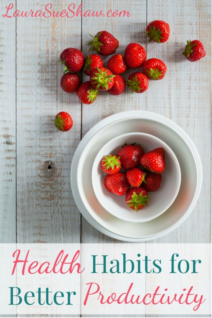 health habits for better productivity
