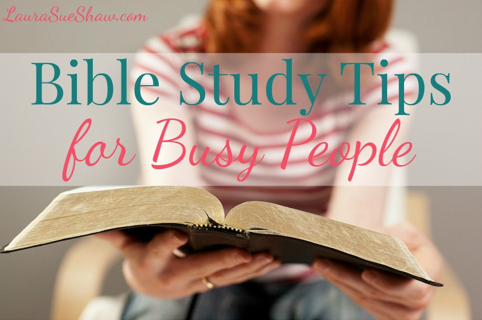 Wondering how you're going to fit spending time with God into your busy schedule? Then check out these Bible study tips and resources to help you get into a devotional routine, even when you're short on time.