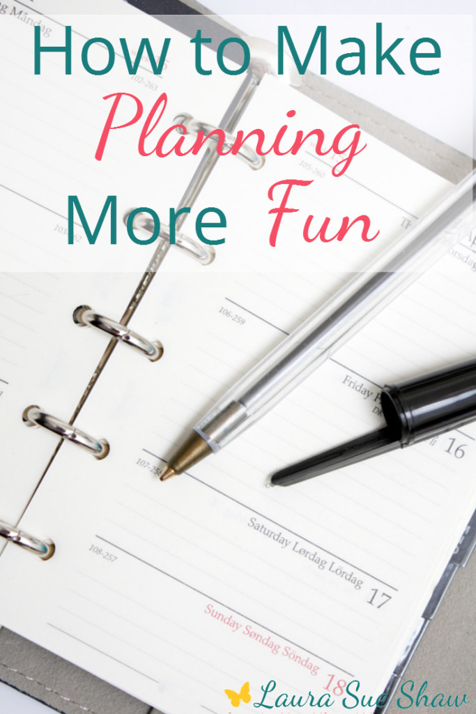 How to Make Planning More Fun