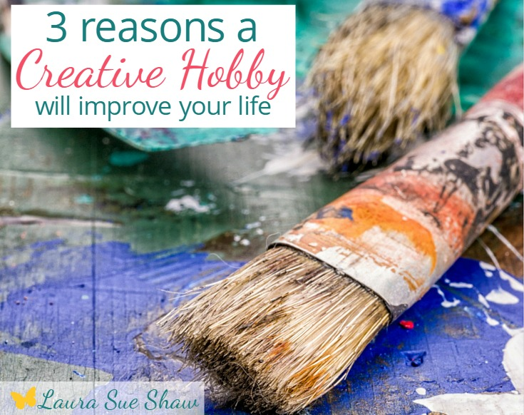 Do you have a creative hobby you enjoy? Learn the ways that having a creative outlet can improve your life. Artistic ability not required!