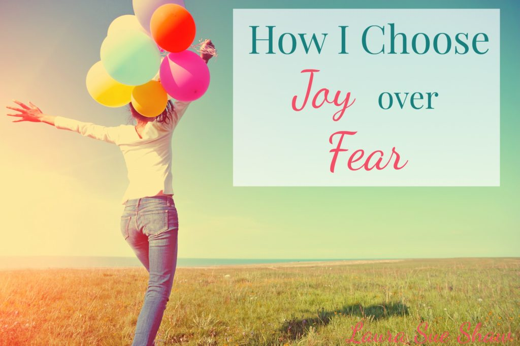 Do you ever feel like fear is overtaking your life? It's not always easy, but here's how I try to choose joy over fear when anxiety creeps in.