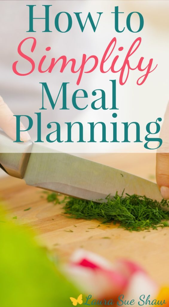 Meal planning can be so overwhelming! Check out these tips to really simplify the meal planning process and get ideas to apply to your own life!