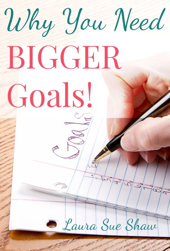 The reason you haven't reached your goal is that it might be too small! I'm sharing why I've decided bigger can be better when it comes to goal setting.