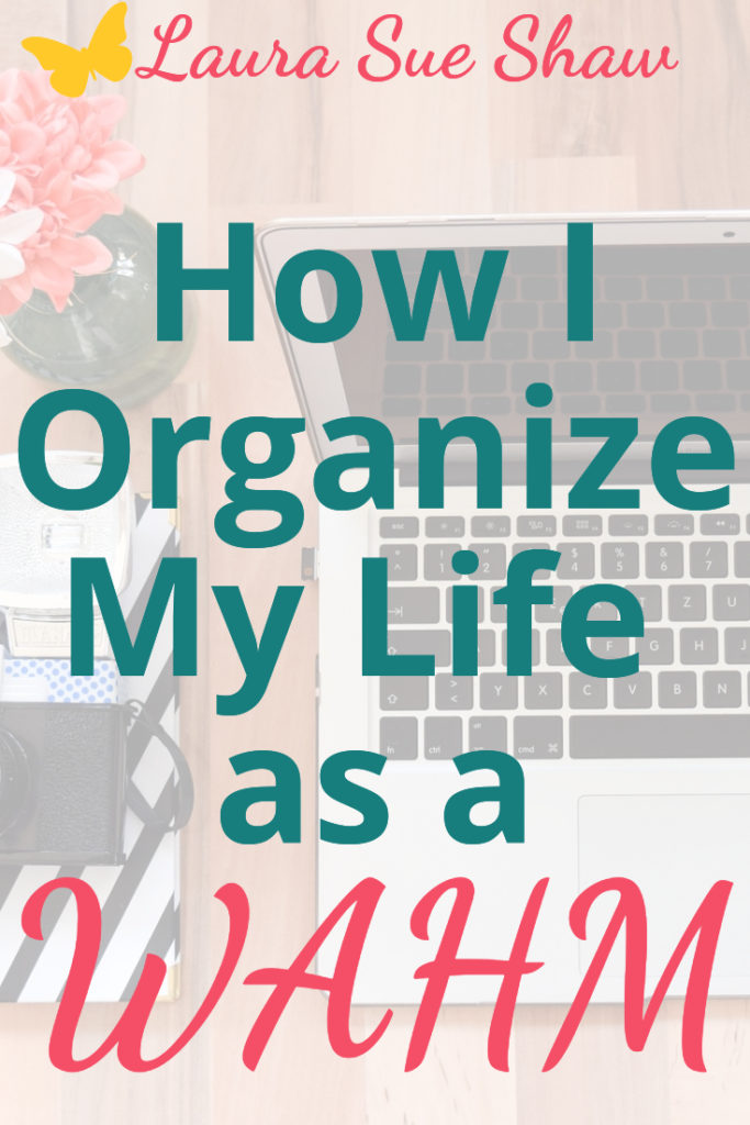 Learn about my system that helps me organize my life as a work at home mom, getting work done while still focusing on my priorities as a wife and mommy.