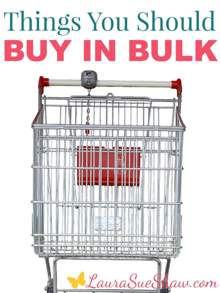 things you should buy in bulk
