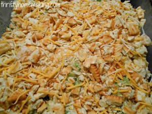 Broccoli Chicken Rice Casserole