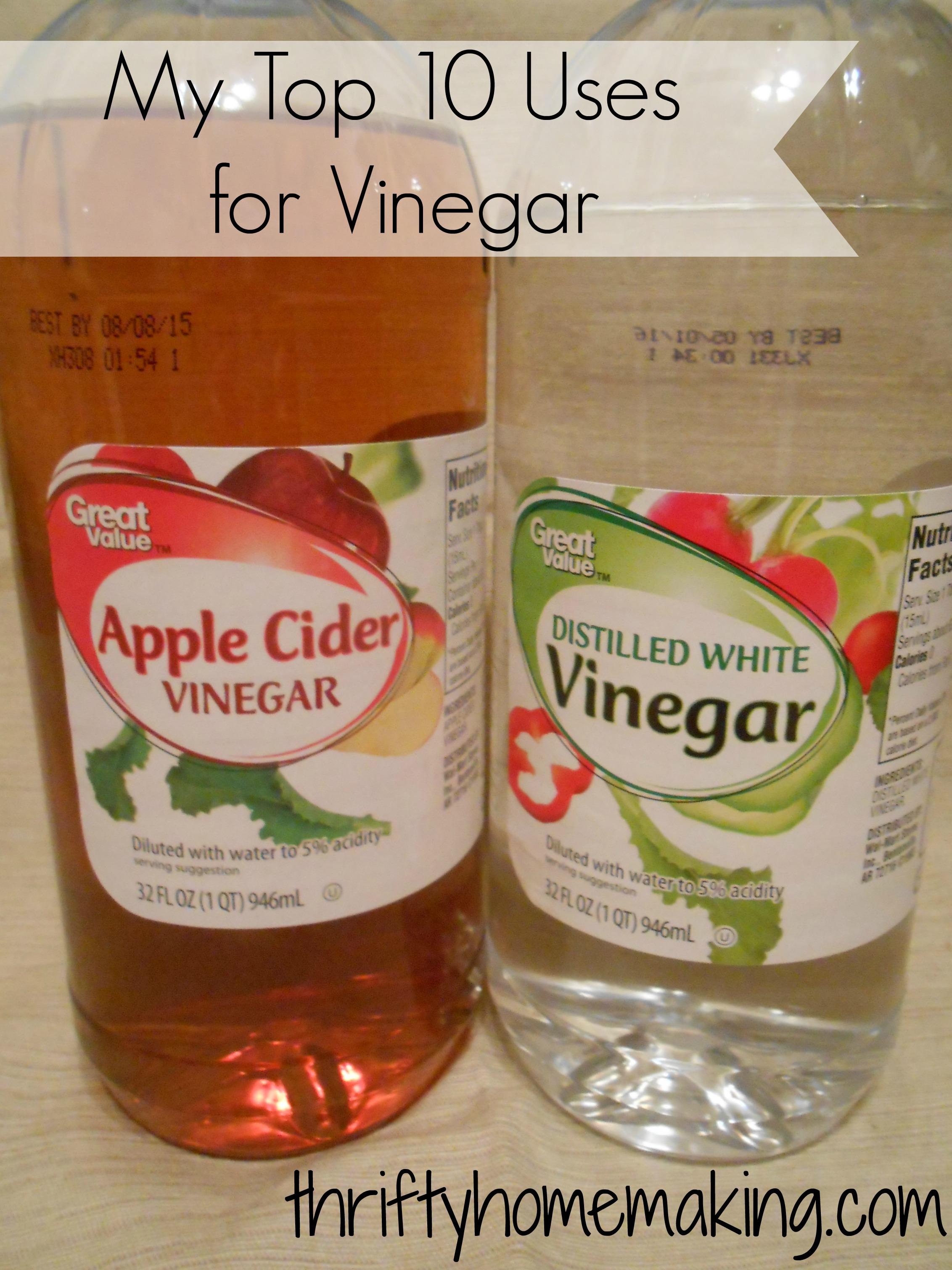 Top 10 Vinegar Uses