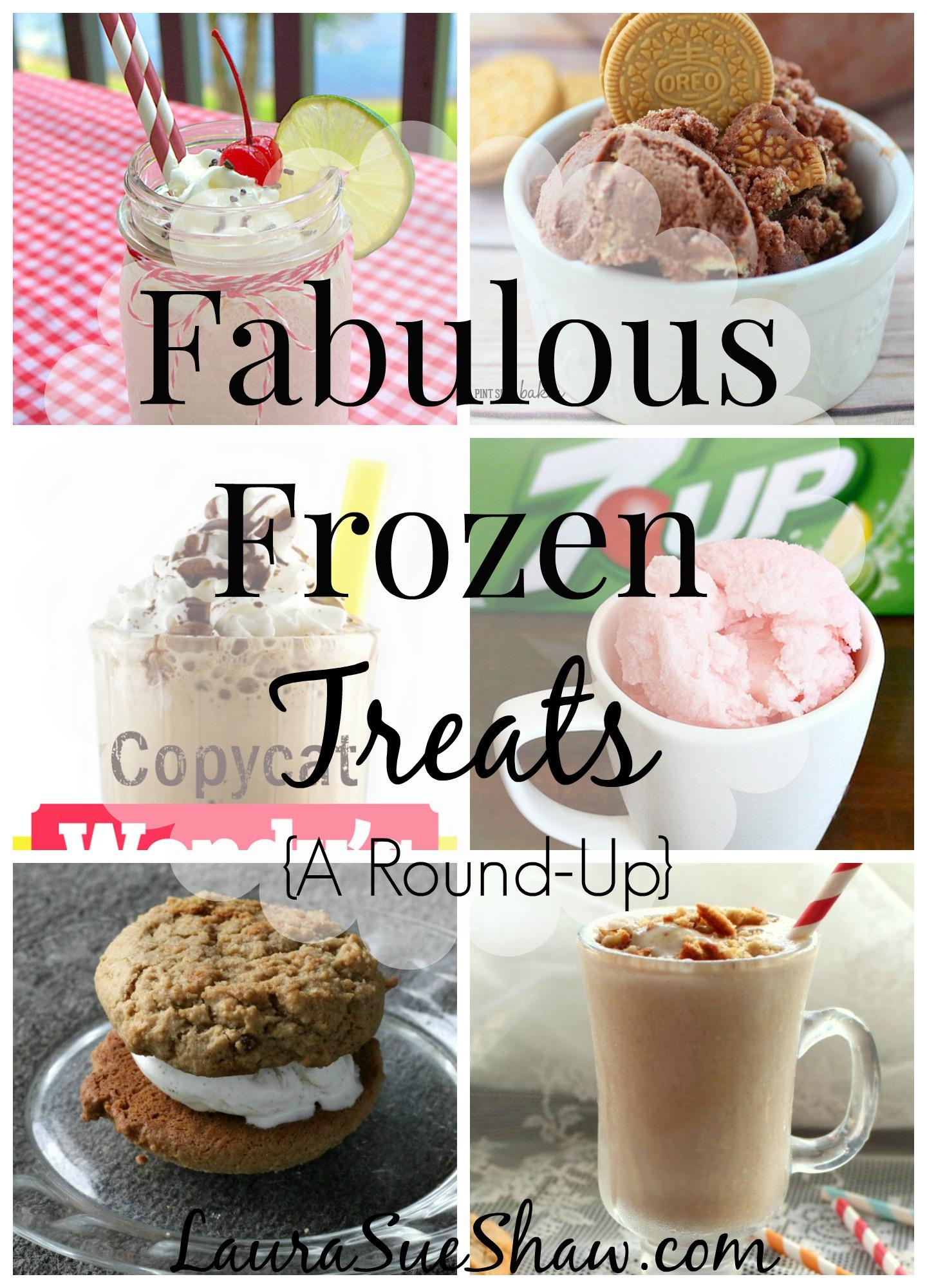 Fabulous Frozen Treats {A Round-Up}