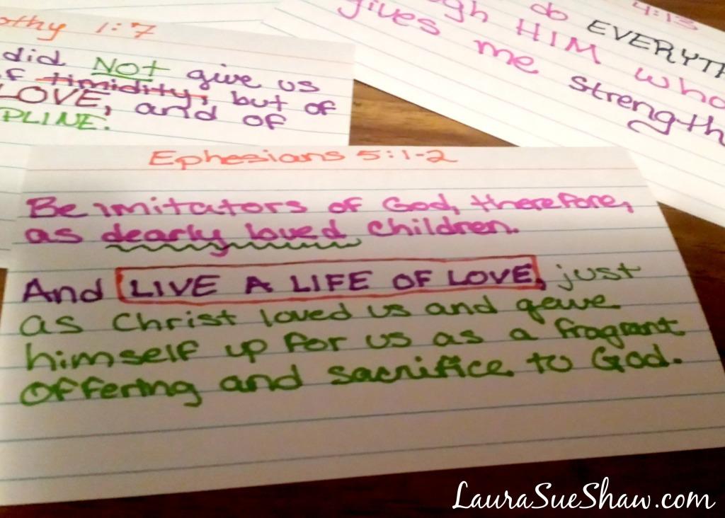 One Simple Idea to Easily Memorize Scripture