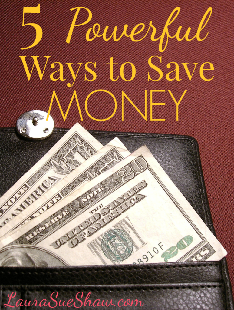 5 Powerful Ways to Save Money