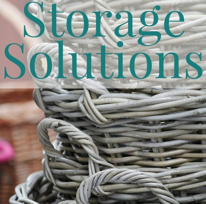 Storage Solutions for a Beautiful, Organized Home
