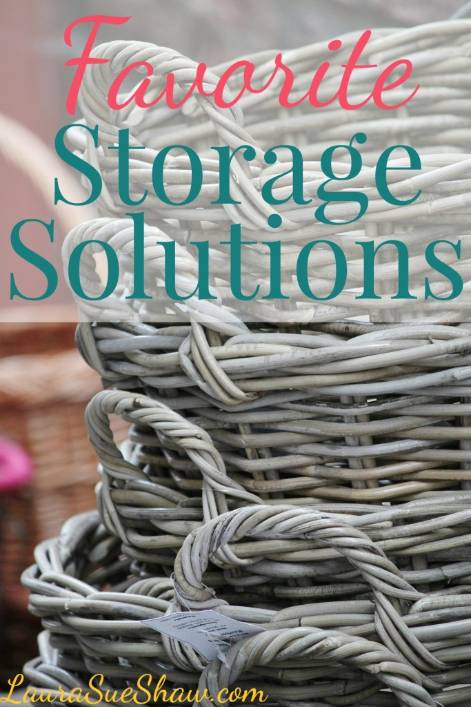 favorite storage solutions