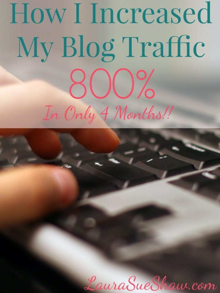 How I Increased Blog Traffic