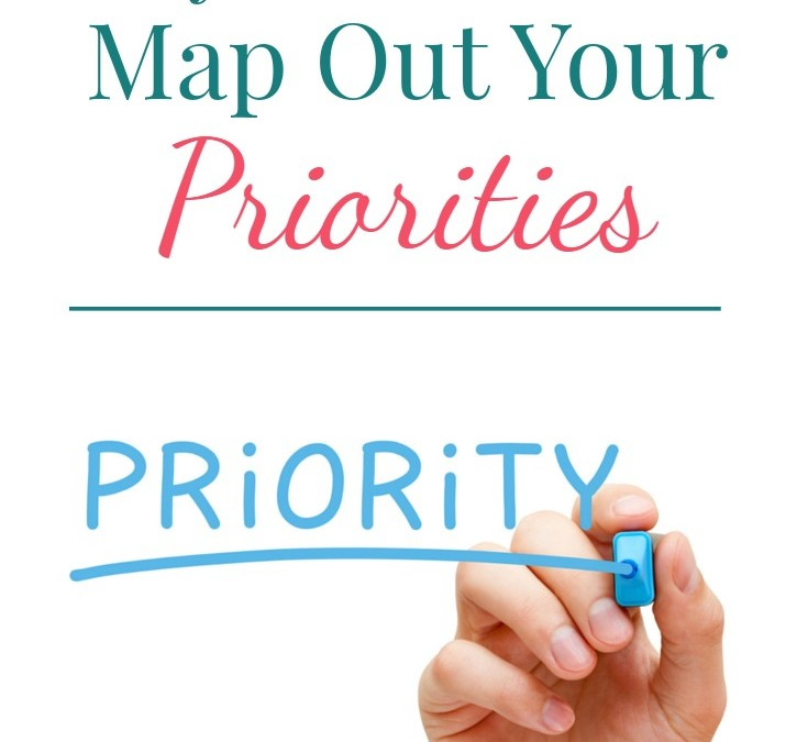 Why You Should Map Out Your Priorities