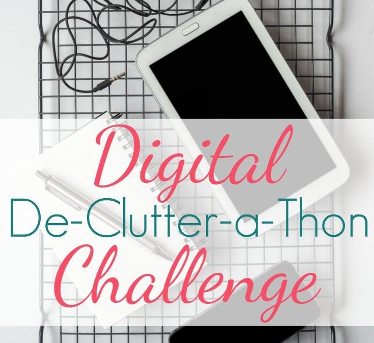 Digital De-Clutter-a-thon Challenge