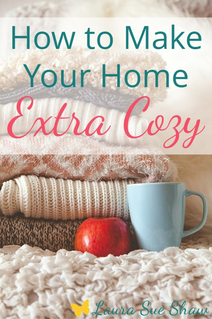 Here are some simple ways to fill your home with warmth and coziness during the long winter months or any time of year!