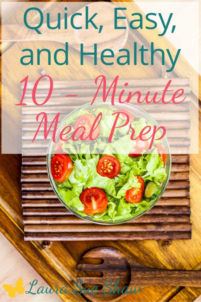 Meal prep doesn't have to be hard or intimidating. I'll show you how to prep healthy meals for the week in only 10 minutes.