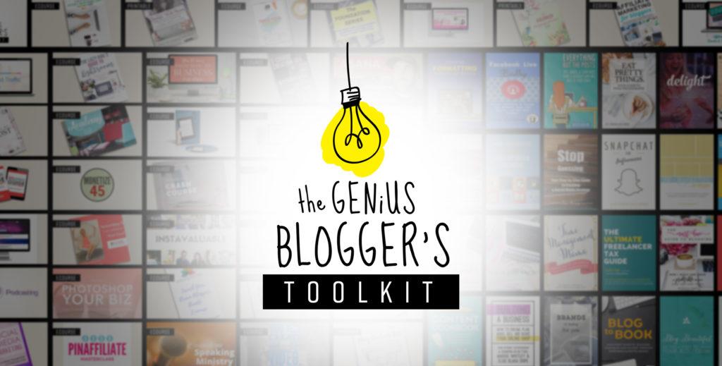 2016 Genius Bloggers Toolkit
