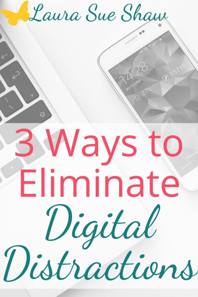 Scrolling, notifications, emails: they all are keeping us from priorities. Learn 3 ways to eliminate digital distractions so you can focus on what matters.