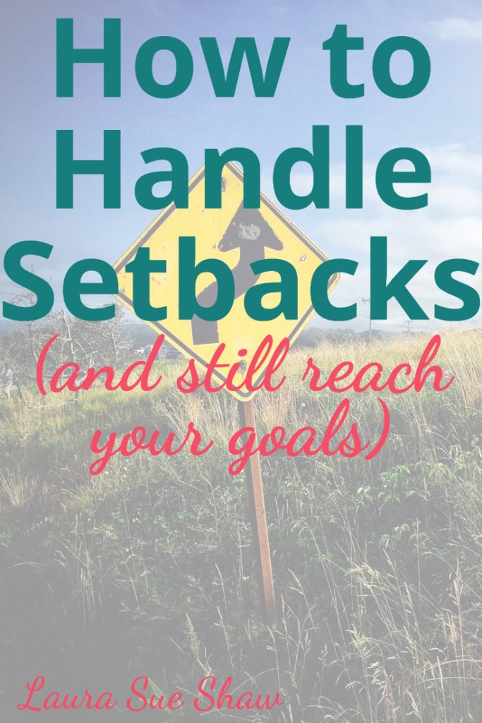 Setbacks can come out of nowhere, and if we're not careful, completely derail us from our goals. Here is my simple game plan on how to handle setbacks and still reach those big goals you have.