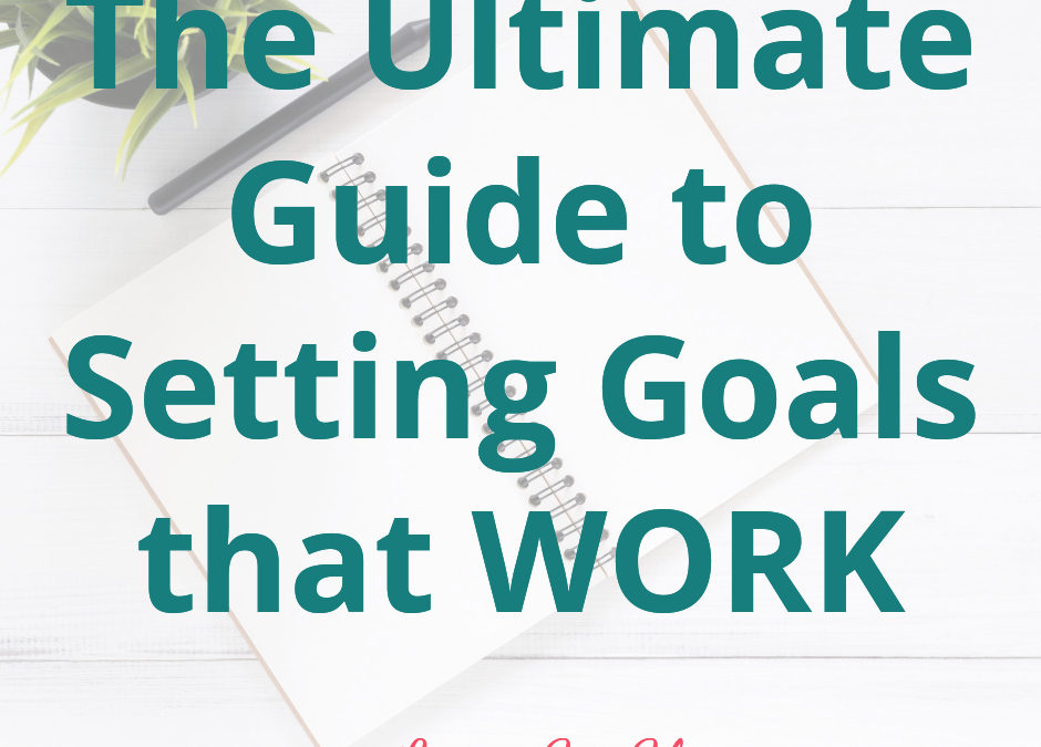 The Ultimate Guide to Setting Goals that Work