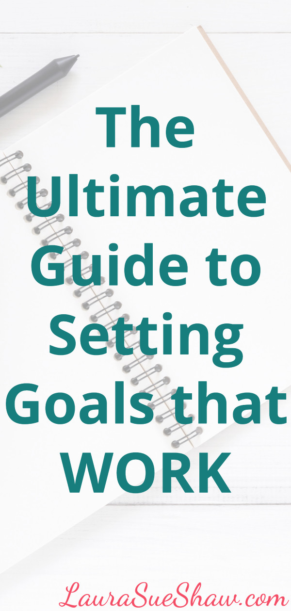 set goals that drive you forward and help you create the life you dream about by finally achieving your biggest goals.